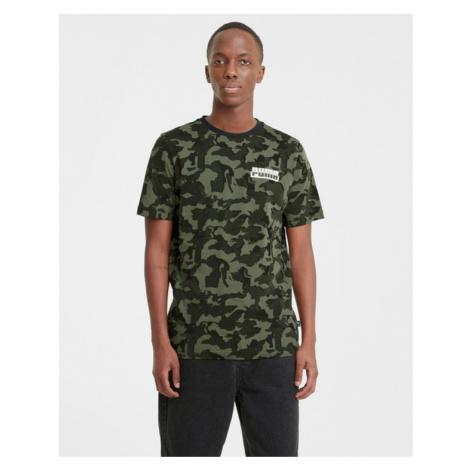 Puma Core Camo AOP T-shirt Green