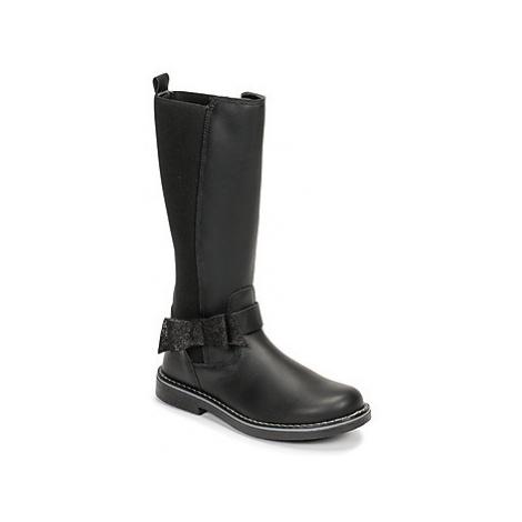 Citrouille et Compagnie LUMINE girls's Children's High Boots in Black