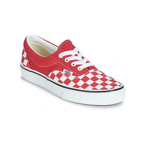 Vans ERA women's Shoes (Trainers) in Red