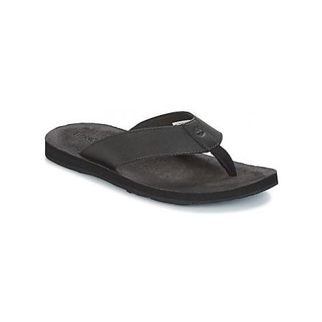 Black men's flip-flops