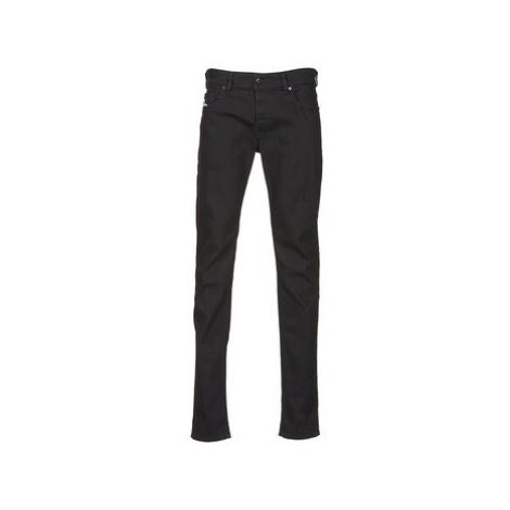 Diesel SLEENKER men's Skinny Jeans in Black