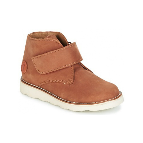 Aster BRAKSTER boys's Children's Mid Boots in Brown