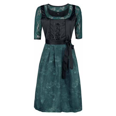 EMP - Hedi's Dirndl - Dress - black-green