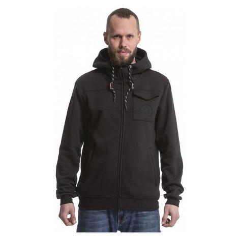 sweatshirt Nugget Coil 3 Zip - A/Black - men´s
