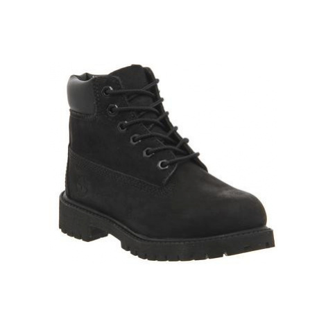 Timberland 6 Inch Classic boots Youth BLACK MONO