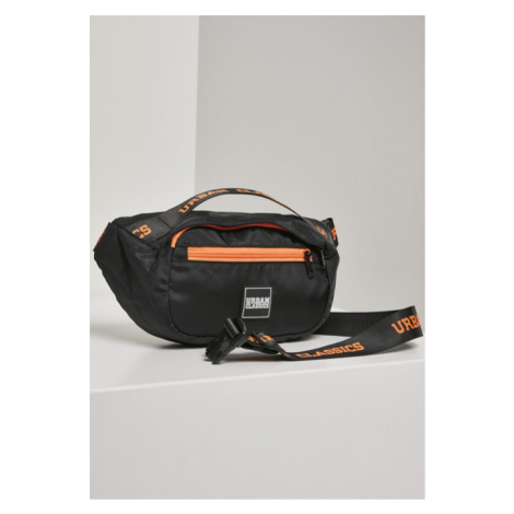 Urban Classics Basic Shoulder Bag black/orange