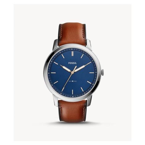 Fossil Men's The Minimalist Slim Three-Hand Light Brown Leather Watch