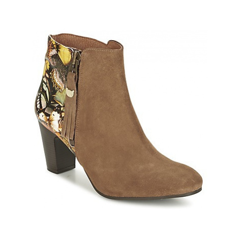Lollipops WILA HEEL BOOTS women's Low Ankle Boots in Brown