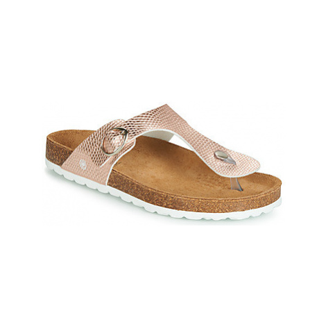 Casual Attitude JALAYAPE women's Flip flops / Sandals (Shoes) in Pink