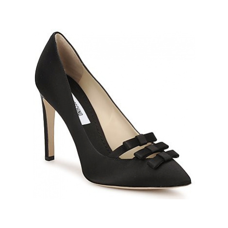 Moschino MA1012 women's Court Shoes in Black