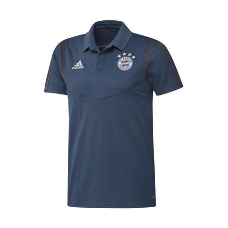 FC Bayern Training Polo - Navy Adidas