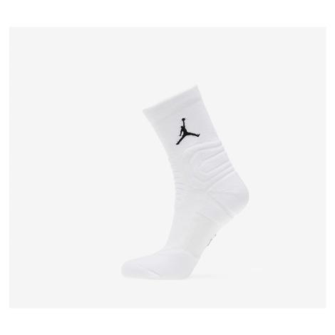 White men's crew socks