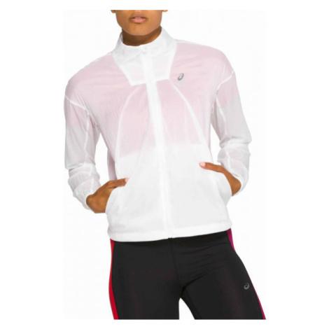 Asics TOKYO JACKET white - Women's running jacket