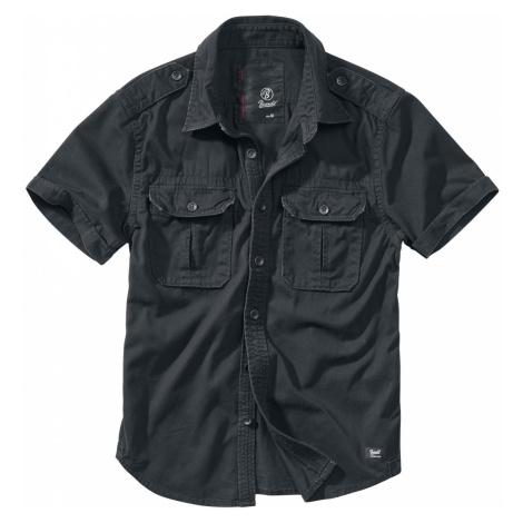 Brandit - Vintage Short Sleeve - Workershirt - black