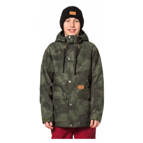 Horsefeathers LANC KIDS JACKET dark green - Boys' ski/snowboard jacket