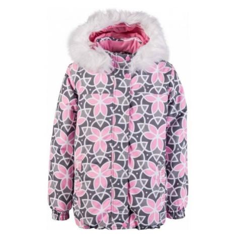 Lewro PAMILA grey - Girls' winter jacket