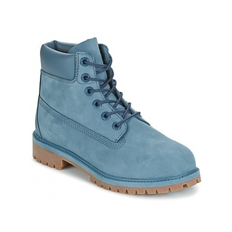 Timberland 6 IN PREMIUM WP BOOT girls's Children's Mid Boots in Blue