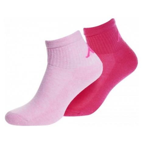 Kappa LOGO ARRAZ 2PACK NEO pink - Women's socks