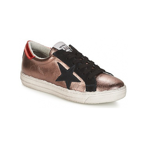 Meline SABA women's Shoes (Trainers) in Pink
