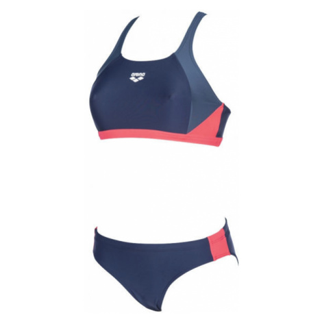 Arena REN TWO PIECES dark blue - Women's two-piece swimsuit