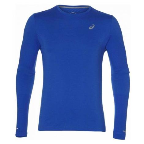 Asics SEAMLESS LS dark blue - Men's sports T-shirt