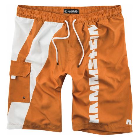 Rammstein - Reise, Reise - Swim trunks - orange-white