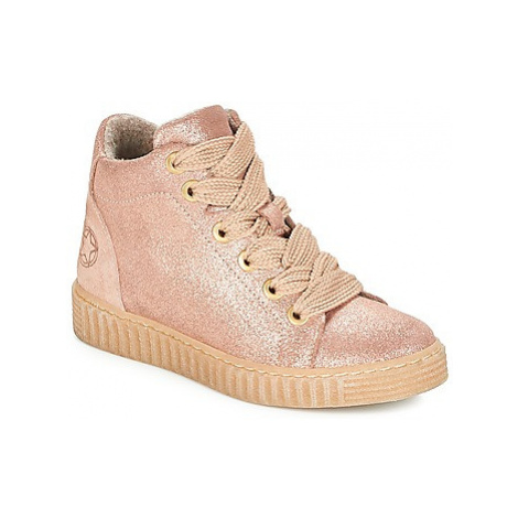Bullboxer LARANA girls's Children's Shoes (High-top Trainers) in Pink