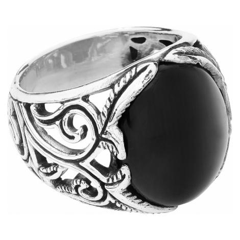 EtNox hard and heavy - Big Black Ornament - Ring - Standard