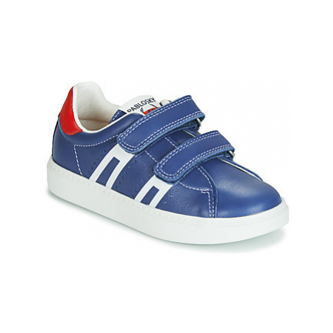Pablosky 276142 boys's Children's Shoes (Trainers) in Blue