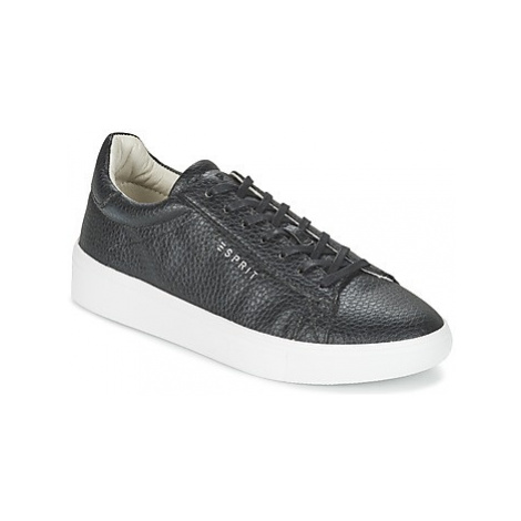 Esprit LIZETTE LACE UP women's Shoes (Trainers) in Black