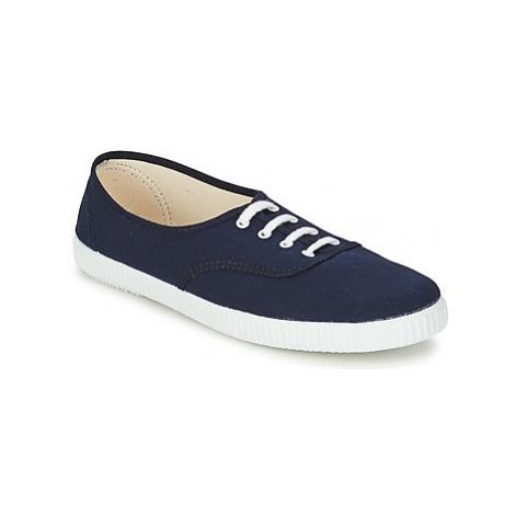 Yurban ARTOUM women's Shoes (Trainers) in Blue