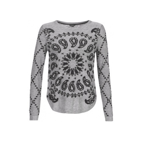 Desigual AUSTIN women's Sweater in Grey