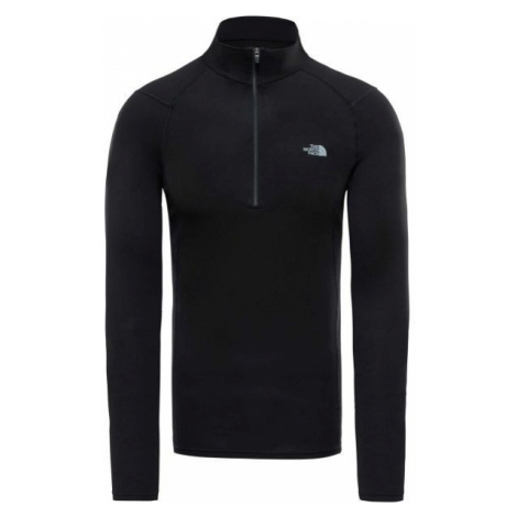 The North Face WARM L/S ZIP NECK M black - Men's underwear