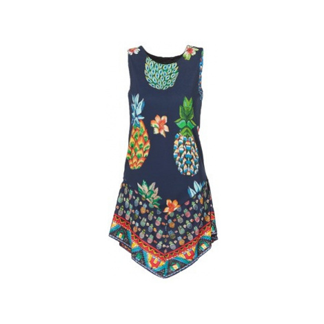 Desigual OELPOLA women's Dress in Blue