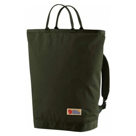 Fjällräven VARDAG TOTEPACK dark green - Bag/backpack