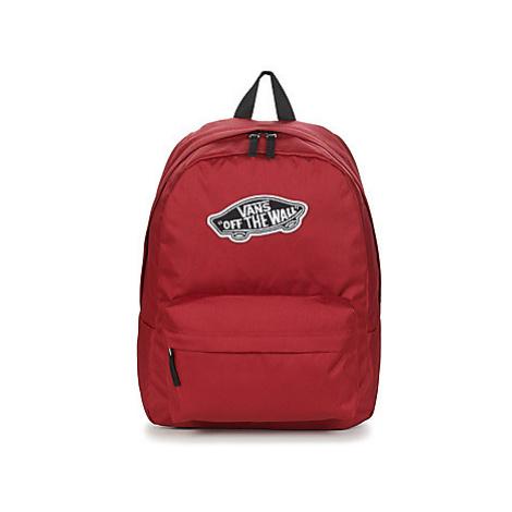 Vans REALM BACKPACK men's Backpack in Red