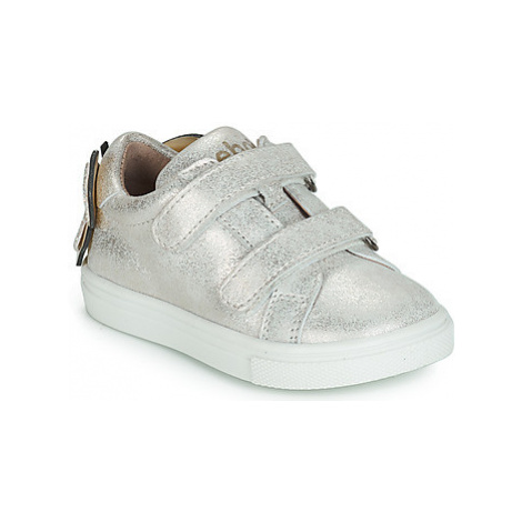 Acebo's BAMBU girls's Children's Shoes (Trainers) in Silver