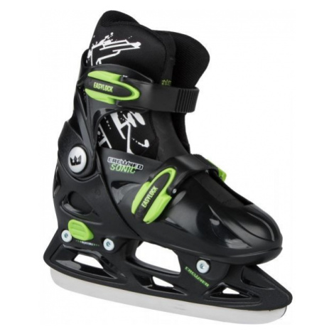 Crowned SONIC green - Kids' ice skates