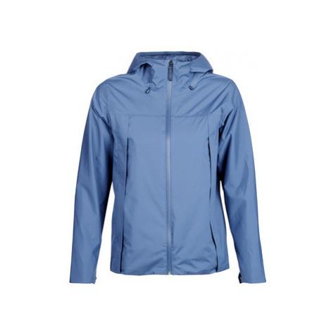 Blue women's outdoor jackets