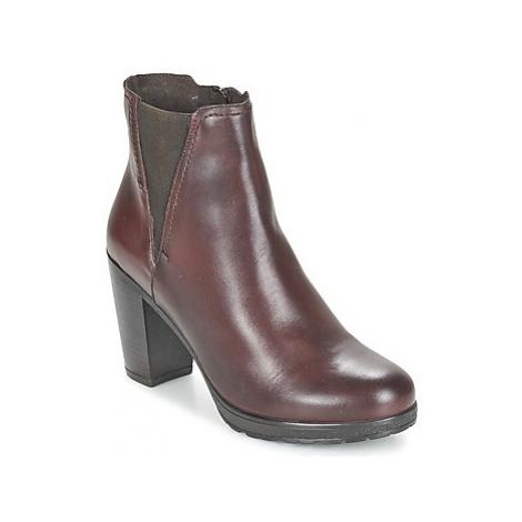 Casual Attitude FENELLA women's Low Ankle Boots in Bordeaux