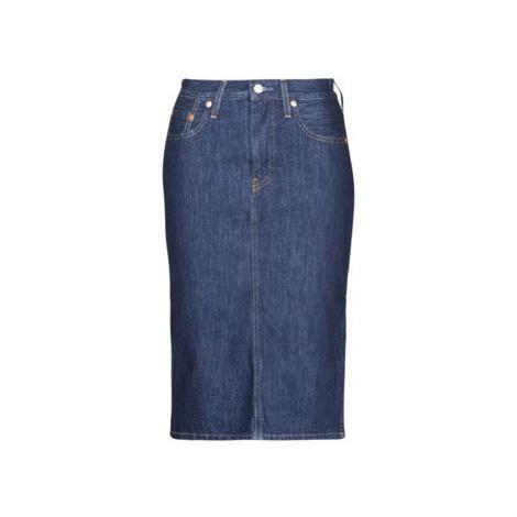 Levis SLIDE SLIT SKIRT JUNIPER RIDGE women's Skirt in Blue Levi´s