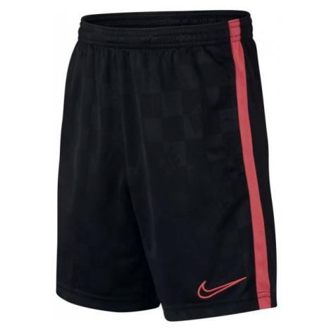 Nike BRT ACDMY SHORT JAQ KP B black - Kids' sports shorts