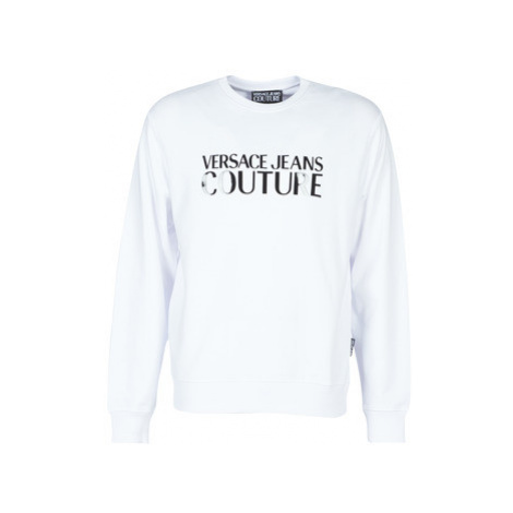 Versace Jeans Couture UUP302 LOGO GLOSS men's Sweatshirt in White