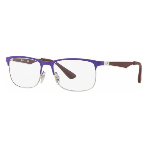 Ray-Ban Rb1052 Unisex Optical Lenses: Multicolor, Frame: Brown - RB1052 4056 47-15