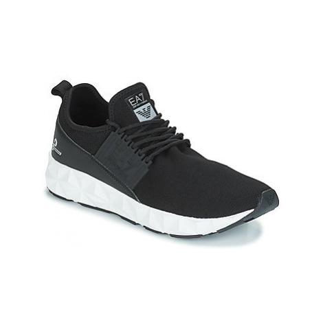 Emporio Armani EA7 ULTIMATE C2 SLIP ON men's Shoes (Trainers) in Black