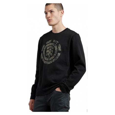 sweatshirt Element Bark Logo Crew - Flint Black - men´s