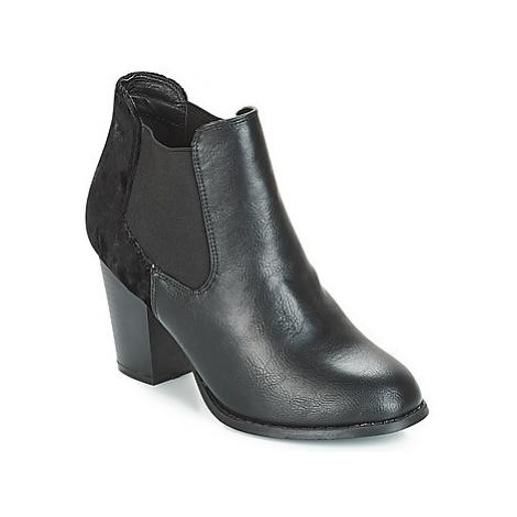 Moony Mood JURDA women's Low Ankle Boots in Black