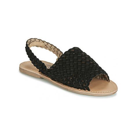 Spot on F00214 women's Sandals in Black