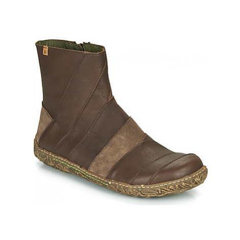 El Naturalista NIDO women's Mid Boots in Brown