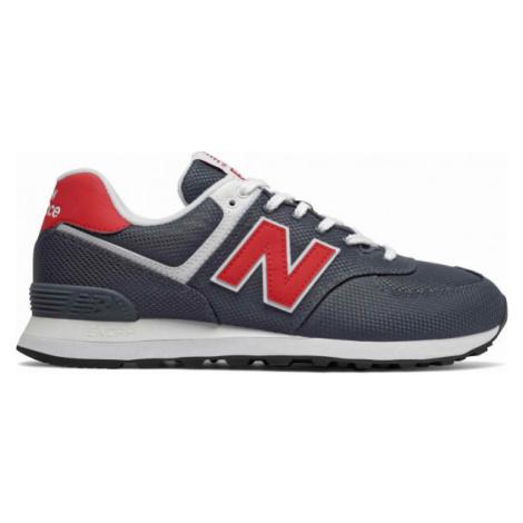 New Balance ML574SCJ dark blue - Men's leisure shoes